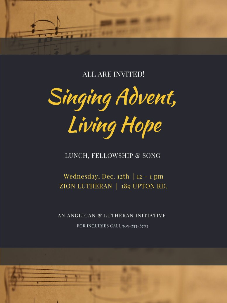 Singing Advent, Living Hope